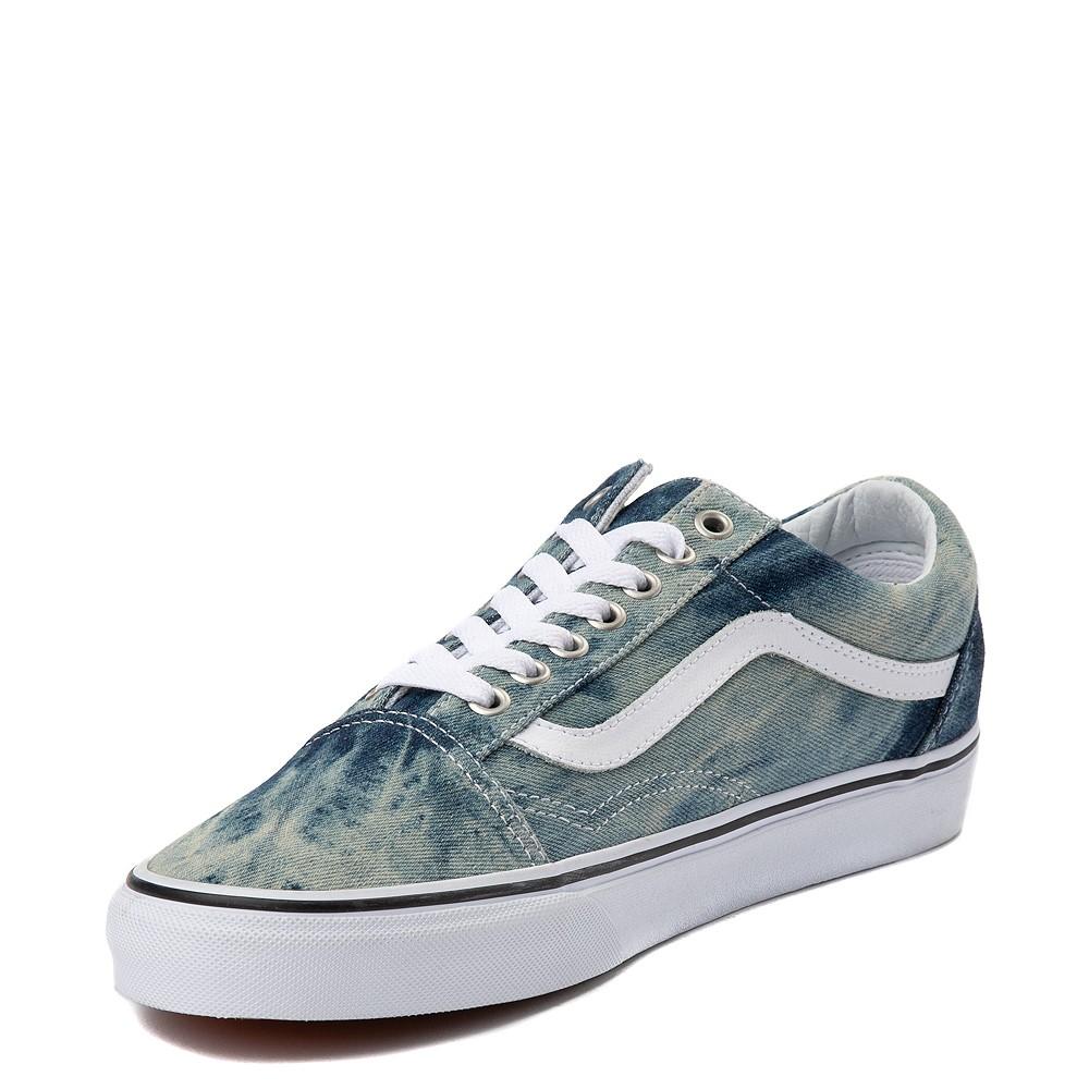 Vans Old Skool Skate Shoe - Acid Denim