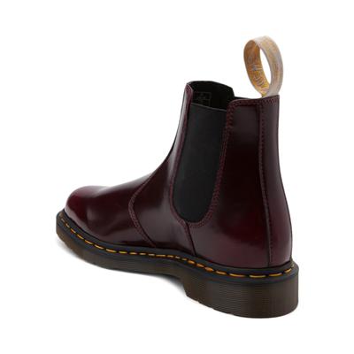 Alternate view of Dr. Martens 2976 Vegan Cambridge Chelsea Boot - Burgundy