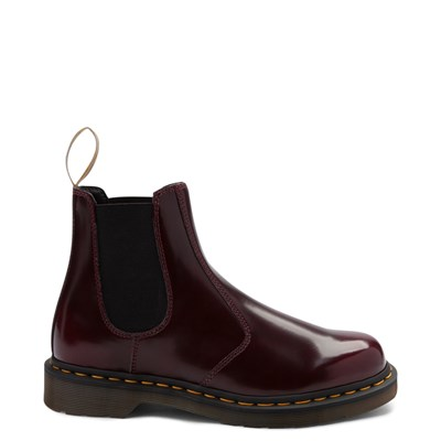 Main view of Dr. Martens 2976 Vegan Cambridge Chelsea Boot - Burgundy