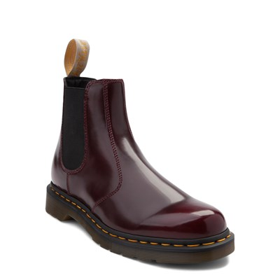 Alternate view of Dr. Martens 2976 Vegan Cambridge Chelsea Boot - Burgundy