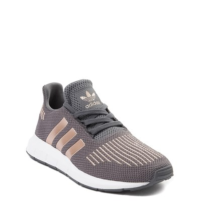 Alternate view of adidas Swift Run Athletic Shoe - Big Kid - Gray / Copper