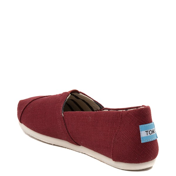 alternate view Womens TOMS Classic Slip On Casual ShoeALT2