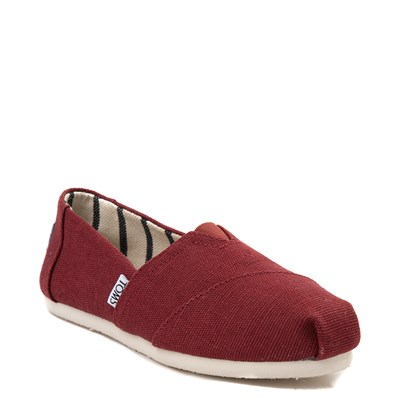 Alternate view of Womens TOMS Classic Slip On Casual Shoe - Black Cherry