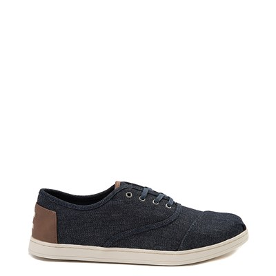 Main view of Mens TOMS Donovan Casual Shoe - Denim