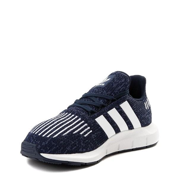 alternate view adidas Swift Run Athletic Shoe - Big KidALT3
