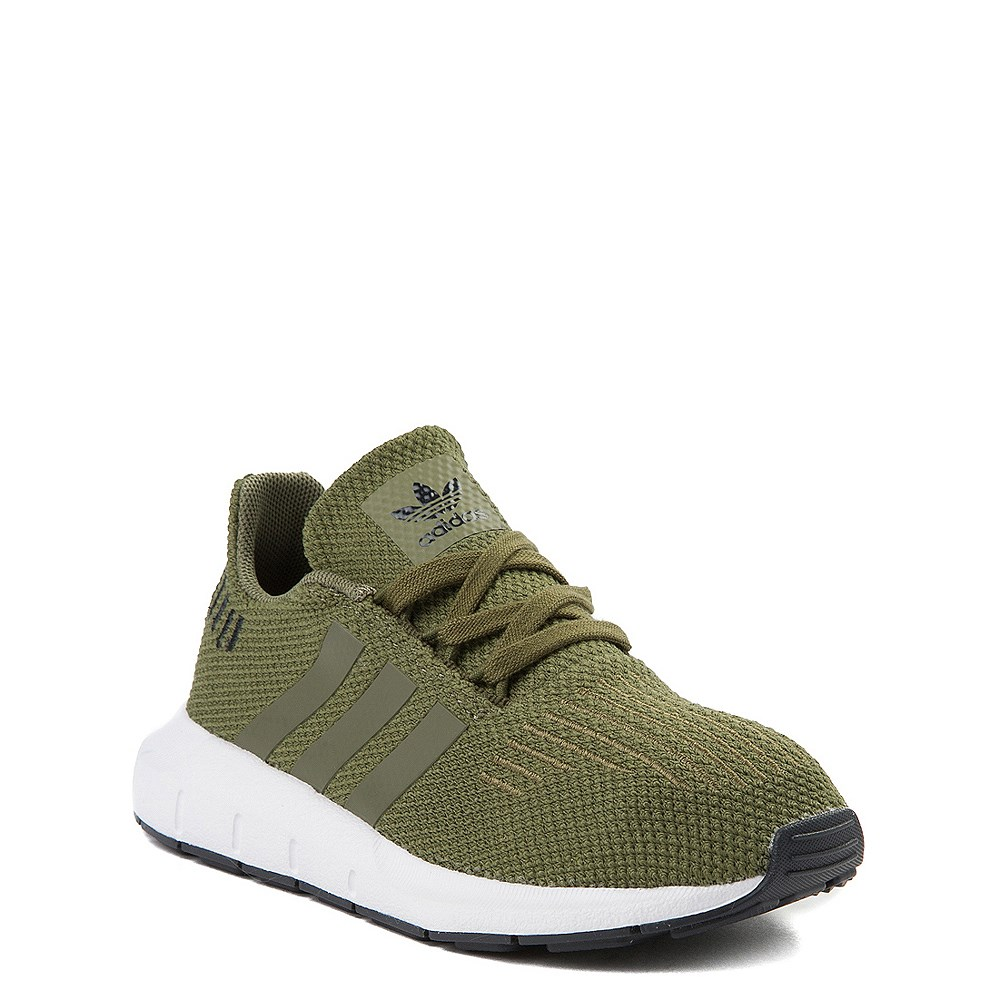 casuale inferenza Paura di morire  adidas Swift Run Athletic Shoe - Little Kid - Olive | Journeys