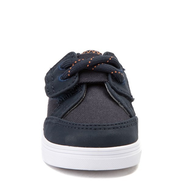 alternate view Sperry Top-Sider Deckfin Casual Shoe - Baby - Navy / OrangeALT4
