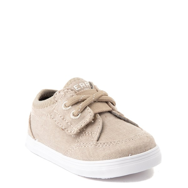 alternate view Sperry Top-Sider Deckfin Casual Shoe - Baby - KhakiALT1