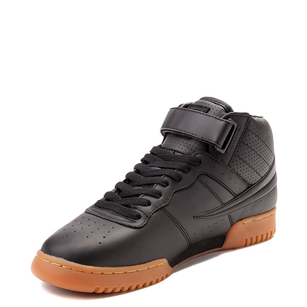 Mens Fila F 13 Athletic Shoe Black Gum