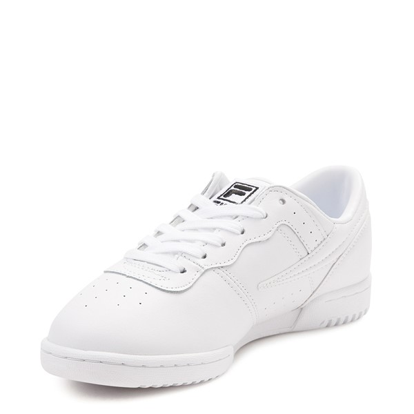 alternate view Womens Fila Original Fitness Athletic Shoe - WhiteALT2