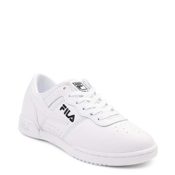 alternate view Womens Fila Original Fitness Athletic Shoe - WhiteALT5