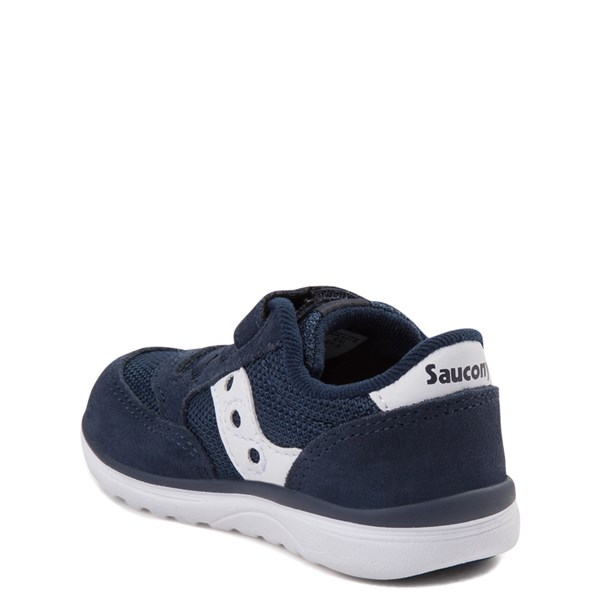 alternate view Saucony Jazz Lite Athletic Shoe - Baby / Toddler / Little Kid - NavyALT2
