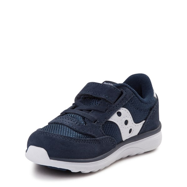 alternate view Saucony Jazz Lite Athletic Shoe - Baby / Toddler / Little Kid - NavyALT3