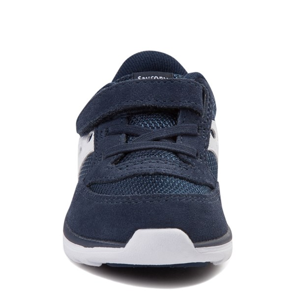 alternate view Saucony Jazz Lite Athletic Shoe - Baby / Toddler / Little Kid - NavyALT4