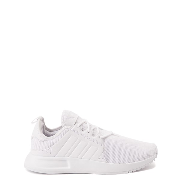 Main view of adidas X_PLR Athletic Shoe - Big Kid - White Monochrome