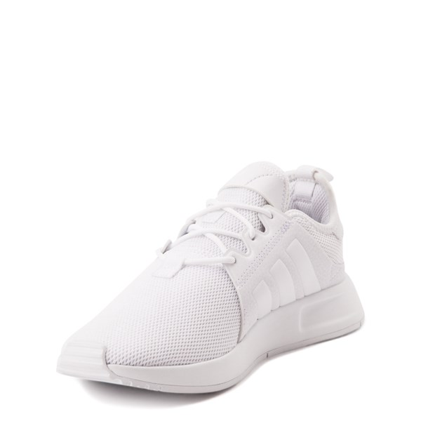 alternate view adidas X_PLR Athletic Shoe - Big Kid - White MonochromeALT3