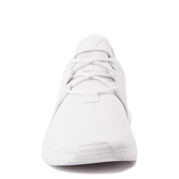 alternate view adidas X_PLR Athletic Shoe - Big Kid - White MonochromeALT4