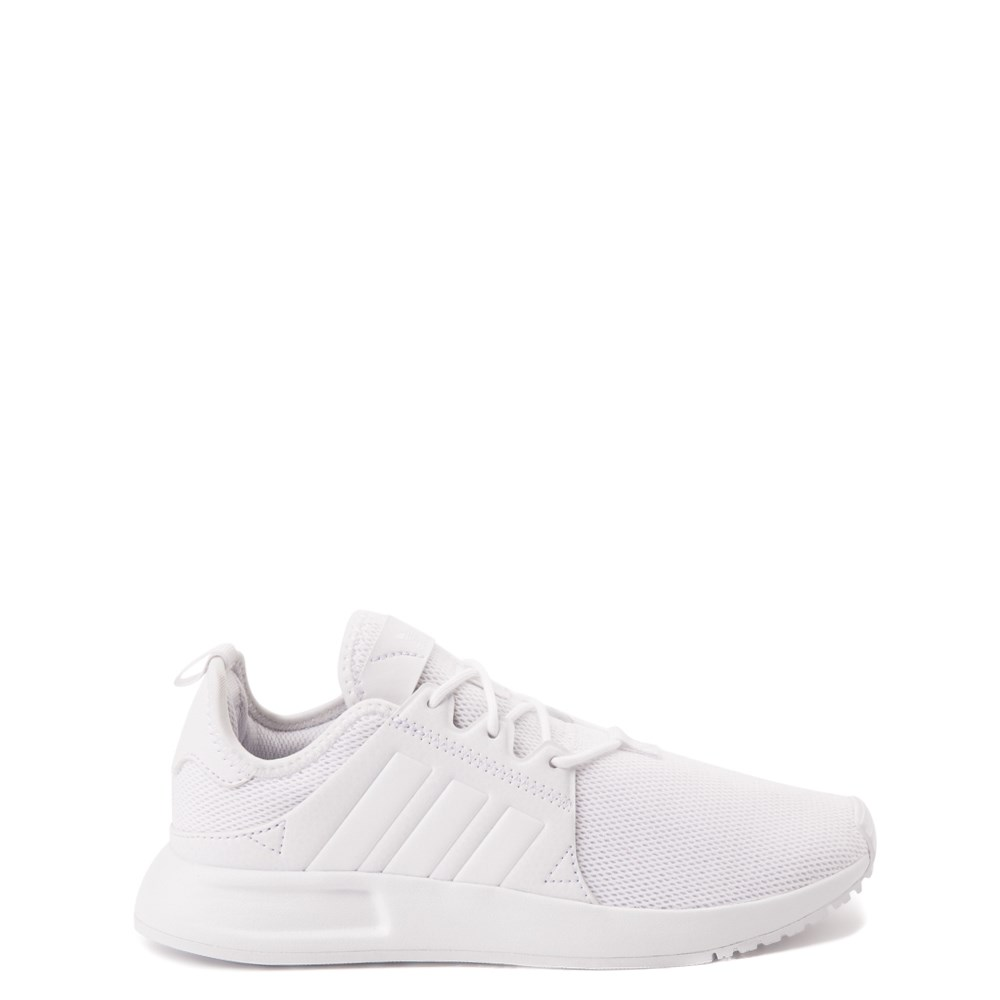 adidas X_PLR Athletic Shoe - Big Kid - White Monochrome