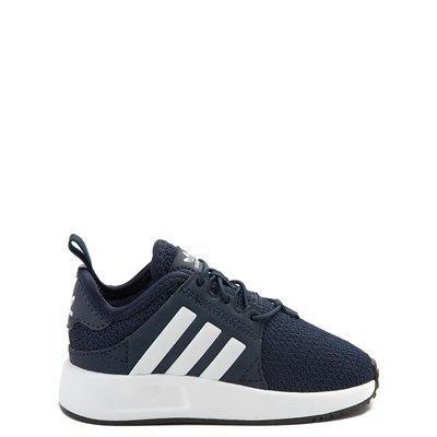 Main view of adidas X_PLR Athletic Shoe - Baby / Toddler - Navy / White