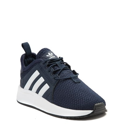 Alternate view of adidas X_PLR Athletic Shoe - Baby / Toddler - Navy / White