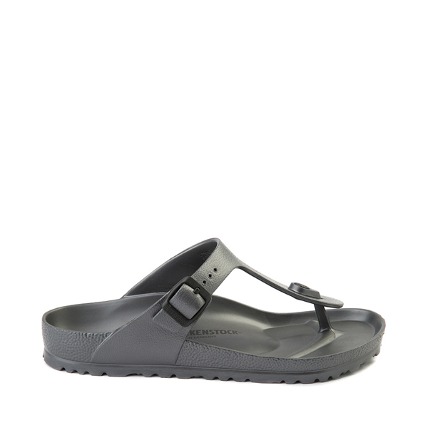 Main view of Womens Birkenstock Gizeh EVA Sandal - Anthracite