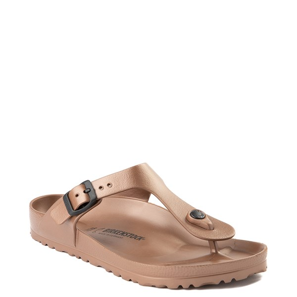 alternate view Womens Birkenstock Gizeh EVA Sandal - CopperALT1