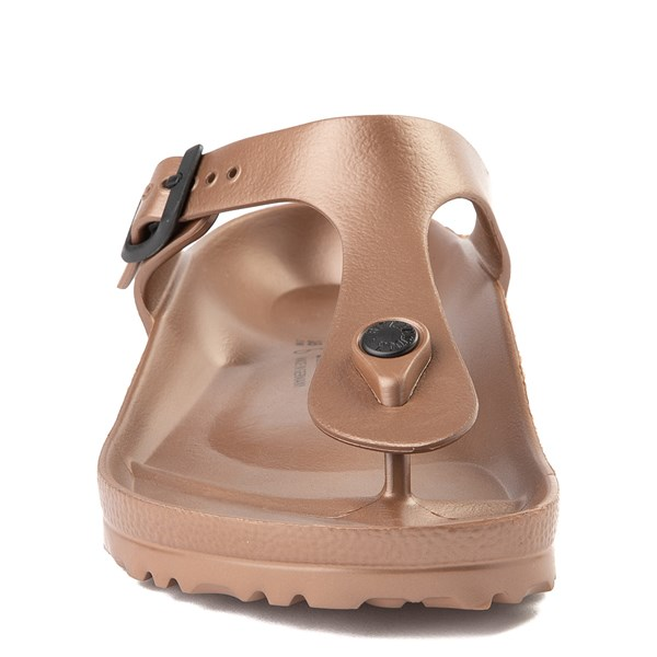 alternate view Womens Birkenstock Gizeh EVA Sandal - CopperALT4