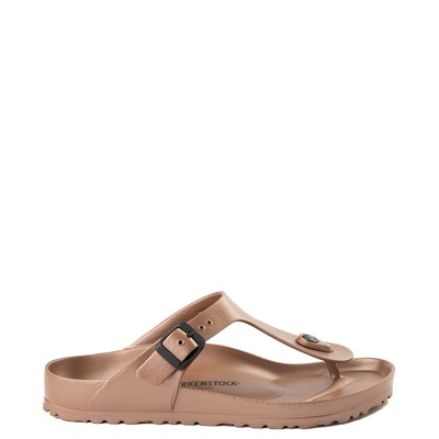 Main view of Womens Birkenstock Gizeh EVA Sandal - Copper