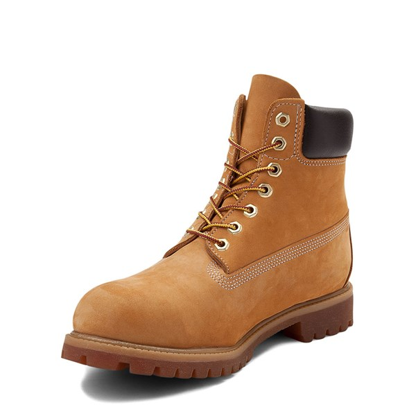alternate view Mens Timberland 6 Inch Classic Boot - WheatALT3
