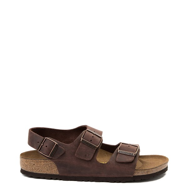 Main view of Mens Birkenstock Milano Sandal - Habana Brown