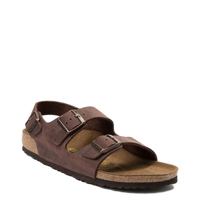 Alternate view of Mens Birkenstock Milano Sandal - Habana Brown