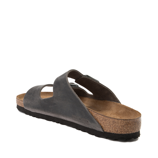 alternate view Mens Birkenstock Arizona Soft Footbed Sandal - IronALT1