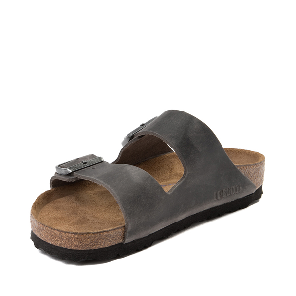 alternate view Mens Birkenstock Arizona Soft Footbed Sandal - IronALT2