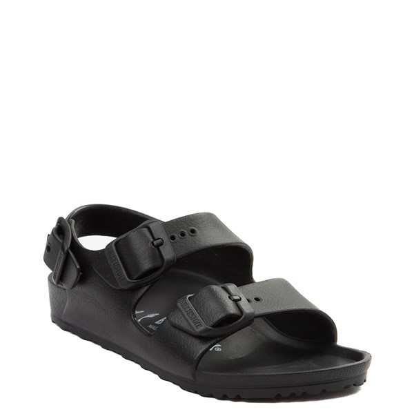 alternate view Birkenstock Milano EVA Sandal - Little Kid - BlackALT1