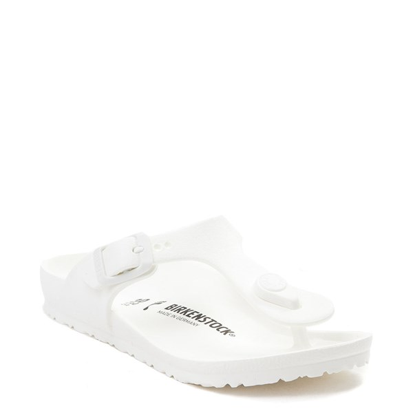 alternate view Birkenstock Gizeh EVA Sandal - Little Kid - WhiteALT1