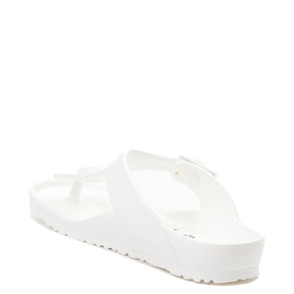 alternate view Birkenstock Gizeh EVA Sandal - Little Kid - WhiteALT2