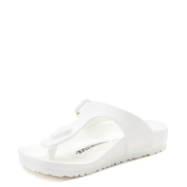 alternate view Birkenstock Gizeh EVA Sandal - Little Kid - WhiteALT3