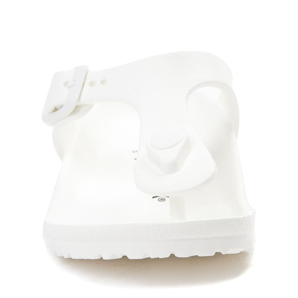 alternate view Birkenstock Gizeh EVA Sandal - Little Kid - WhiteALT4
