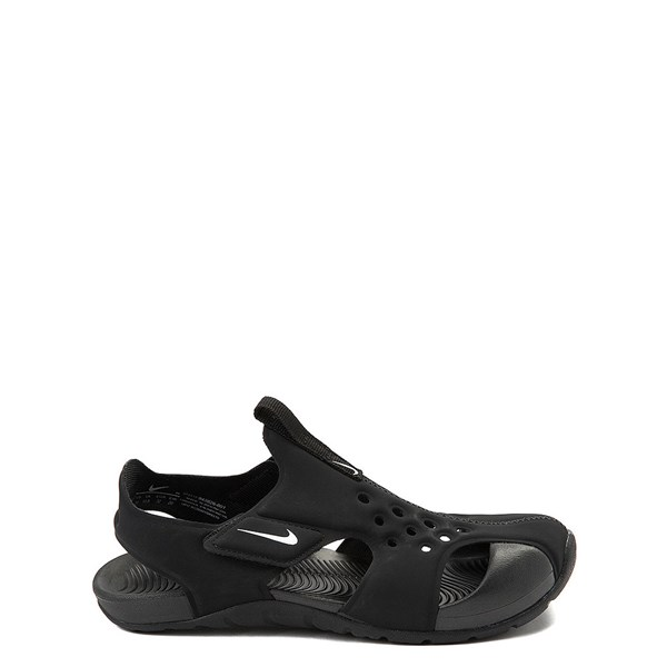 Nike Sunray Protect Sandal - Little Kid - Black / White