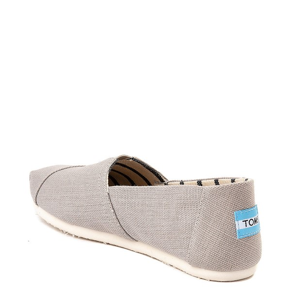 alternate view Womens TOMS Classic Slip On Casual Shoe - Morning DoveALT1