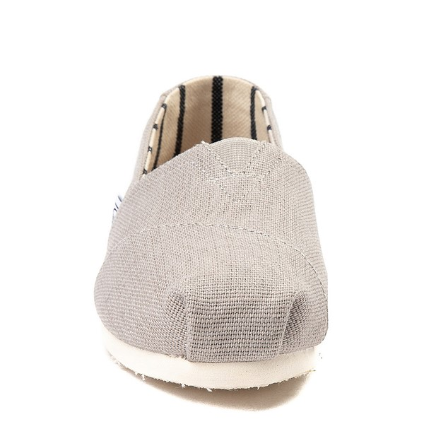 alternate view Womens TOMS Classic Slip On Casual Shoe - Morning DoveALT4