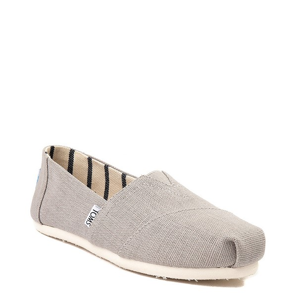 alternate view Womens TOMS Classic Slip On Casual Shoe - Morning DoveALT5