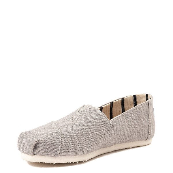 alternate view Womens TOMS Classic Slip On Casual Shoe - Morning DoveALT3