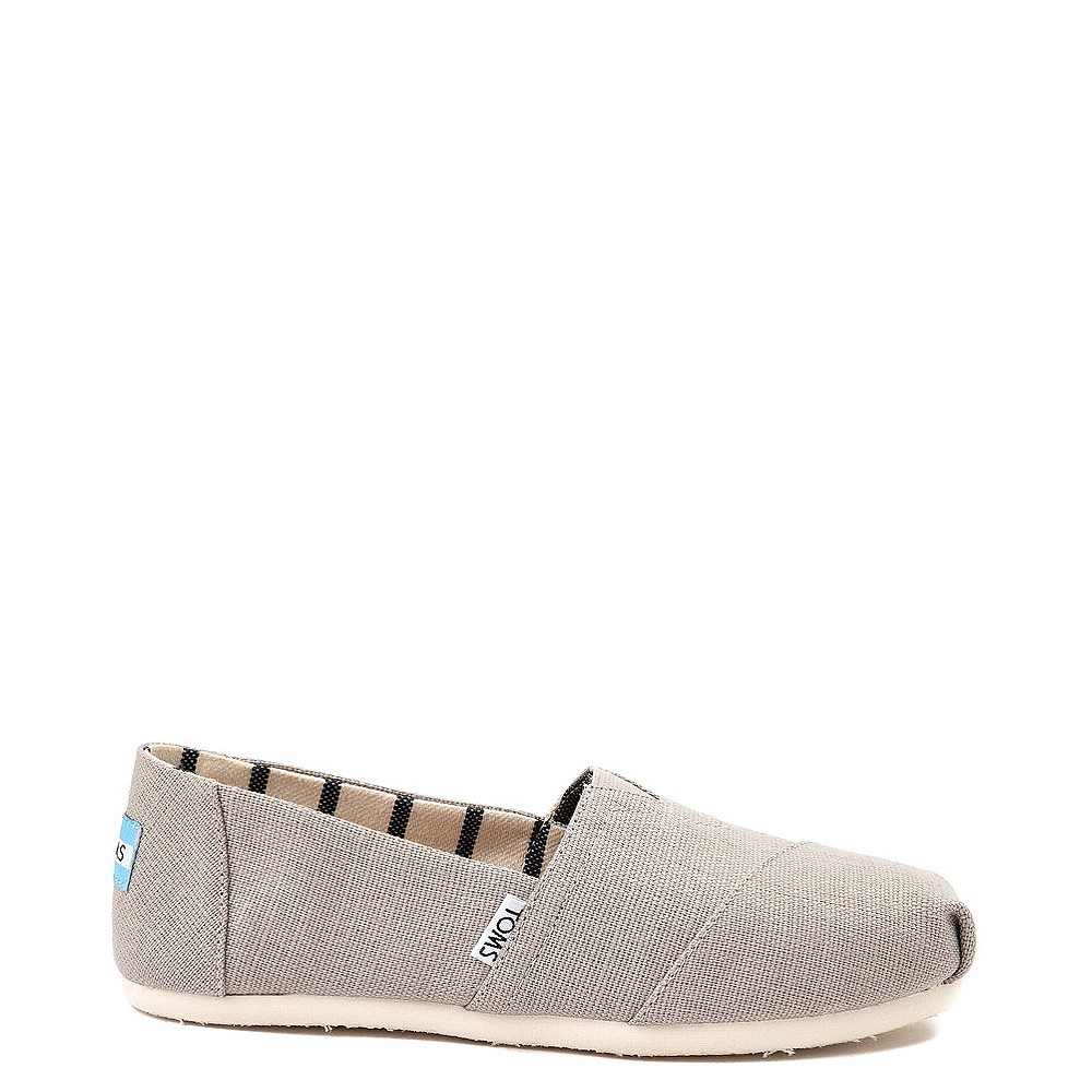Womens TOMS Classic Slip On Casual Shoe - Morning Dove