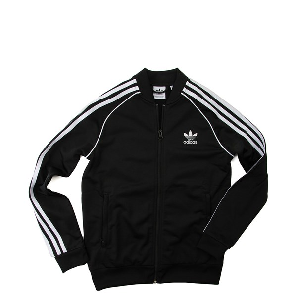 adidas Superstar Track Jacket - Little Kid / Big Kid - Black
