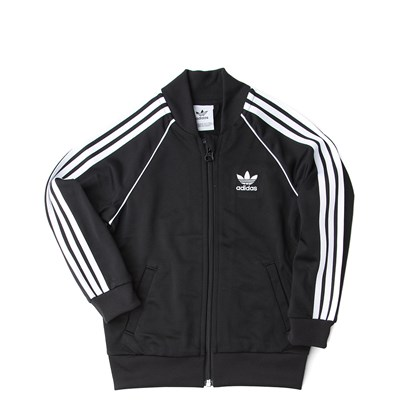 Alternate view of adidas Superstar Track Suit - Toddler - Black