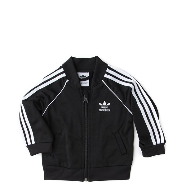 alternate view adidas Superstar Track Suit - Baby - BlackALT1