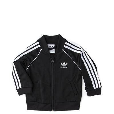 Alternate view of adidas Superstar Track Suit - Baby - Black
