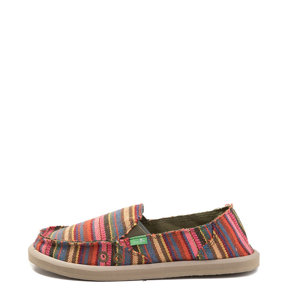 Womens Sanuk Donna Slip On Casual Shoe