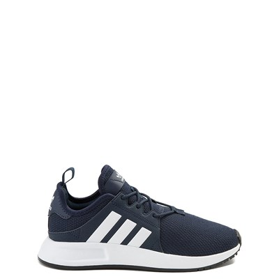 Main view of adidas X_PLR Athletic Shoe - Big Kid - Navy / White